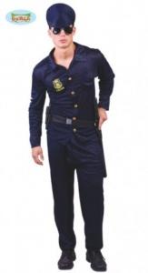 Disfraz de policía hombre