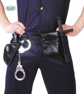 Cinturón policía con accesorios
