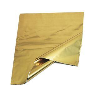 Bolsa de cotillón dorada