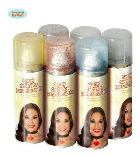 Spray glitter en colores