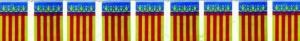 Bandera Comunidad Valenciana grande de 50mtr