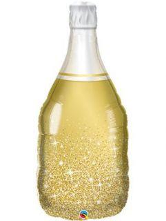 Globo botella champagne