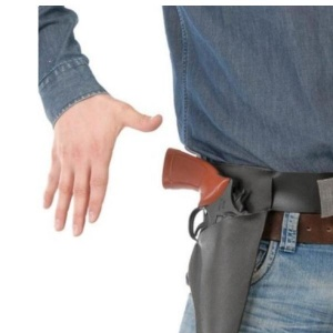 imagen Cinturón con funda  para pistola