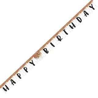 Guirnalda Happy Birthday sprinkles