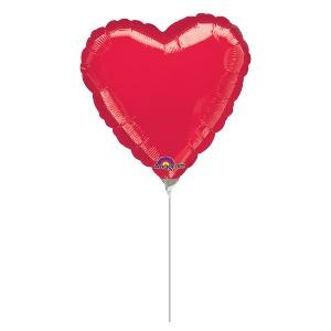 Micro globo corazón