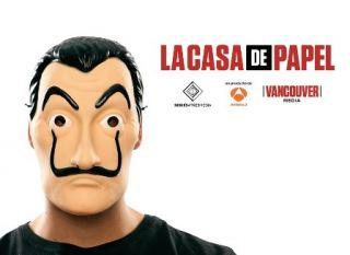 Máscara ladrón (casa de papel)