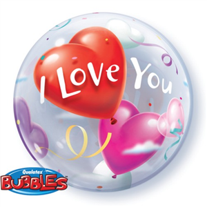 Globo bubble I Love You