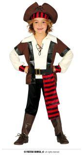 Disfraz de pirata siete mares