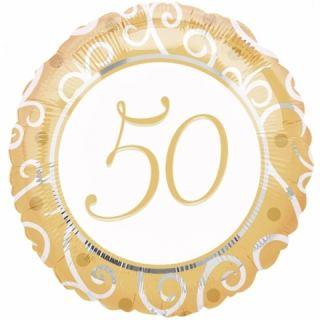 Globo foil 50 aniversario