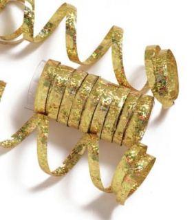 Serpentina holografica dorada