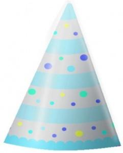imagen Gorrito cartón azul