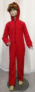 Disfraz de convicto rojo INFANTIL (la casa de papel)