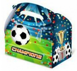 Cajita fútbol llena de golosinas