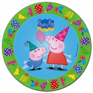 imagen Platos Peppa Pig 23cm