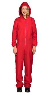 Disfraz de convicto rojo (La casa de papel)