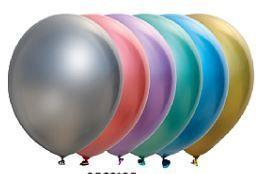 Globos látex cromados de colores