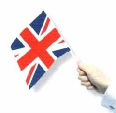 Bandera palo Reino Unido