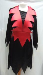 Disfraz diablesa negro