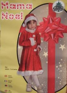 Disfraz de Mamá Noel terciopelo