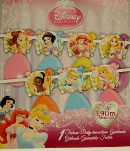 Guirnalda Princesas con globos