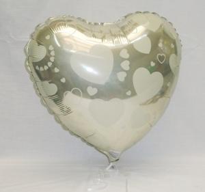 Globo foil corazones