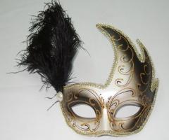 Mascaras veneciana Cigno Past + Piu