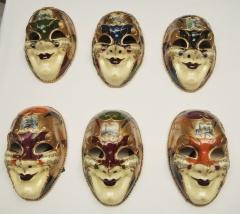 Máscara veneciana  Joker deca