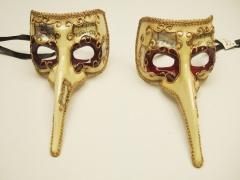 Mascara veneciana  Nasone Deca