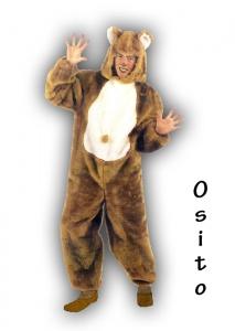 Alquiler de disfraz de Osito