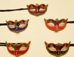 Mascara veneciana  colombina Losanghe