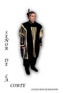 imagen Alquiler de disfraz de Señor de la corte (colección diamante)