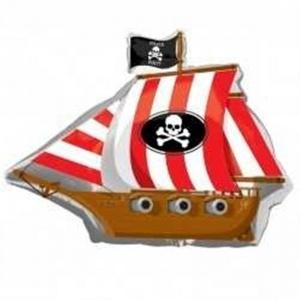 Globo foil barco pirata