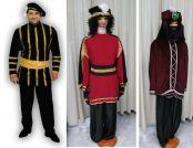 Alquiler de disfraces de  Pajes madive