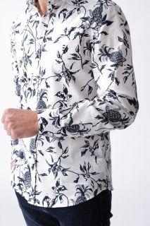 Camisa Florentino estampada piñas slim fit
