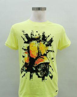 Camiseta Guy Vespa amarillo