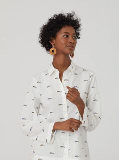 Camisa Nice Things Little fish Print