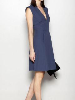Vestido Hoss Intropia escote V sastre con textura