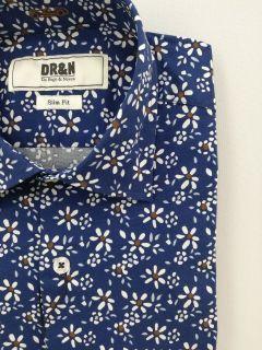 Camisa Do Rego & Novoa estampada margaritas
