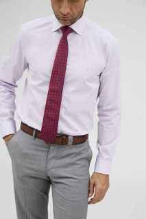 Camisa Florentino vestir malva regular fit