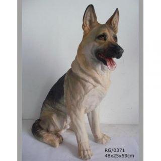 Perro Pastor Alemán 59 cm.