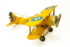 Avioneta antigua metal