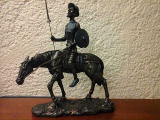 Don quijote a caballo