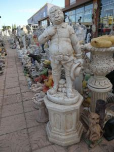 Sancho Panza con columna