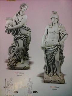 Marte y Atenea