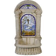 Fuente romana cisnes