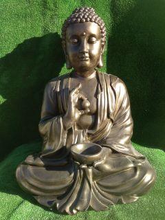 Buda grande 80 cm. oro viejo