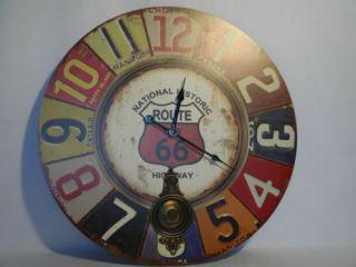 Reloj pared vintage c/pendulo