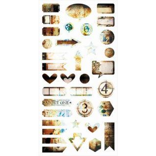 imagen Hazy Days - Die-cut Elements 6x12