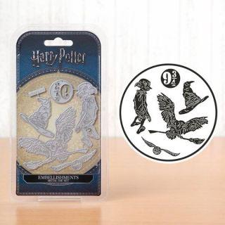imagen Embellishments Harry Potter, set de 5 troqueles