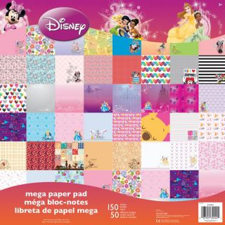 imagen Disney Single-Sided Mega Paper Pad 12 CHICAS